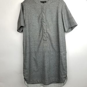Banana Republic SZ 12 grey shift dress